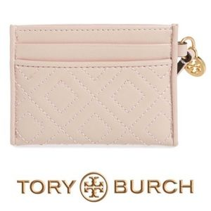 Tory Burch • Fleming Slim Card Holder • NWT